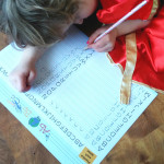 The link between literacy and preschool printing