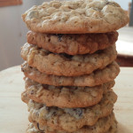 Vegan hemp hearts & flax oatmeal cookies